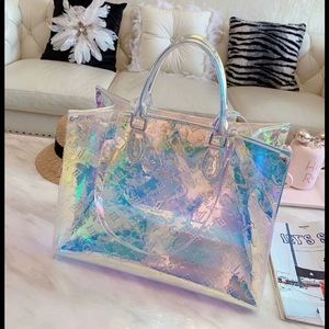 Louis Vuitton neverfull prism bay